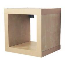 IKEA KALLAX Regal Birkenachbildung; (42x42cm) Cube Bücherregal Aufbewahrung