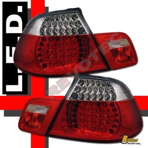 00 01 02 03 BMW E46 Convertible 323Ci 325Ci 330Ci LED Tail Lights 1 Pair
