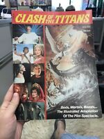 Clash of the Titans Comic Book Adaptation of the Movie by Golden Press 1981