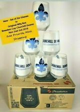 Six New Unused Breeders Cup Official CHURCHILL DOWNS 2018 Glasses  Original Box