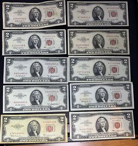 1953-1963 $2 Legal Tender Note