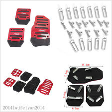Manual Car Clutch Brake Accelerator Pedal Nonslip Foot Treadle Cover For Honda