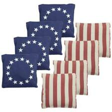 All Weather Cornhole Bean Bags Set of 8 Regulation Size&Weight for Cornhole Game