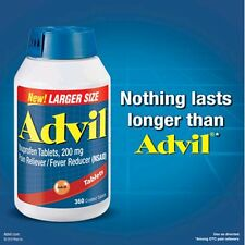 Advil  Ibuprofen Tablets 200 mg Pain Reliever, Fever Reducer, 360 tablets, 2020