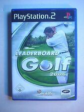 Playstation 2 / PS2 Spiel - Leaderboard Golf 2006 - selten - mit Anleitung (096
