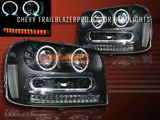 02 03 04 05 06 - 09 CHEVY TRAILBLAZER 2X CCFL HALO & LED  PROJECTOR HEADLIGHTS