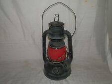Vintage, 1920's, Dietz, Little Wizard, Red & Clear Globe, Lantern