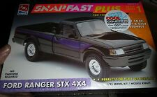 AMT FORD RANGER STX 4X4 PICKUP TRUCK SNAPFAST 1/25 Model Car Mountain KIT fs