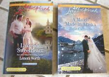 Lot of Love Inspired Romance Novels ~ Large Print ~ LOOK!