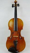 Feine alte Geige/ Violine um 1900, Zettel David Techler