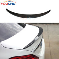 Rear Trunk Spoiler Boot Lip for Mercedes Benz W205 C250 C350 C63 AMG 4Door 15-18