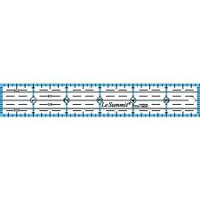 Le Summit 6 Inch X 1 Inch Quilting Ruler #34061 Clear Acrylic Ruler