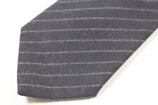 DANIELE ALESSANDRINI men's wool neck tie made in Italy