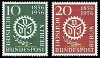EBS Berlin 1956 Association German Engineers Michel 138-139 MNH**