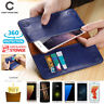 Fashion Real Leather For Apple iPhone X 6 6s 8 7 Plus Case Wallet Card Pouch Bag