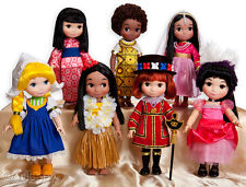Disney Animators' Collection It's a Small World Singing India Doll NEW IN BOX