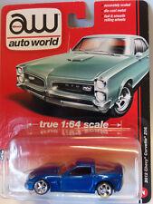 Auto World 1:64 - Chevrolet Corvette Z06 in Blau (2012)