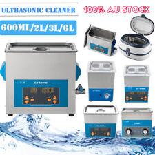 2/3/6L DIGITAL ULTRASONIC CLEANER ULTRA SONIC BATH CLEANING TIMER TANK industry