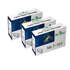 3 NON-OEM Toner Cartridges For Samsung MLT-101 SCX-3400 SCX-3405 SCX-3405FW