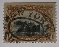 Travelstamps:1901 US Stamps  Sc#299 10c Pan-American Issue Fast Ocean Navigation