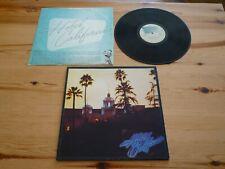 THE EAGLES HOTEL CALIFORNIA VINYL GATEFOLD ALBUM RECORD EXCELLENT ORIGINAL 1976