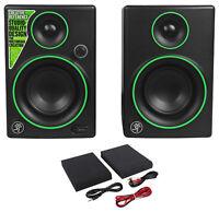 "Pair New Mackie CR3 3"" Creative Reference Multimedia Monitors Speakers (Pair)"