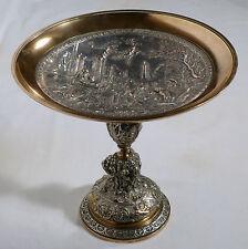 Coupe en bronze décor mythologique néo-renaissance XIXème ancienne.