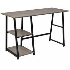Computer Laptop Desk Work Station Table Office Home Student Study Shelves