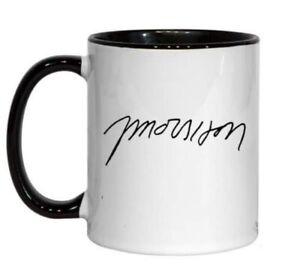 Jim Morrison Autograph Signature Design Coffee Mug Unique Gift Collector New