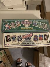 1990 & 1991 Upper Deck Baseball Complete Factory Set 2 Set Lot