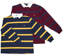 Polo Ralph Lauren Big and Tall Men's Navy Burgundy Shirt Multisizes AS