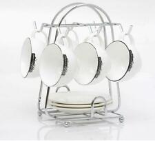 6-cup Mug Stand Coffee Cup Holder Dish Storage Tray Rack Organizer Hanger