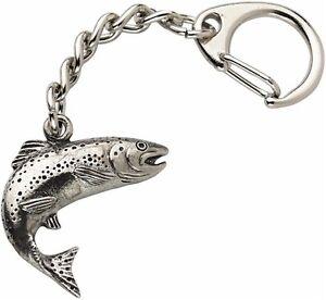 Salmon Keyring.