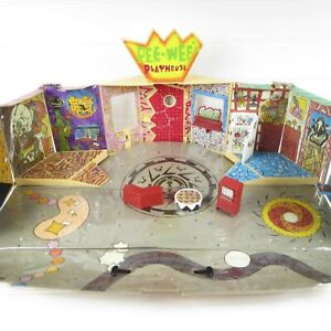 PEE-WEE'S PLAYHOUSE - VINTAGE 1987 MATCHBOX ACTION FIGURE PLAYSET