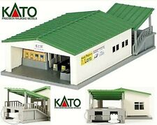 Kato Station Railway Local of Inlet Trains with Awning Drop Ladder-N