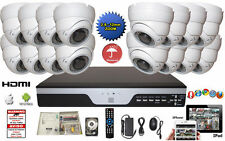 Dvr 16 Ch Analog High Definition 720P Security with16 Varifocal Dome Camera Set