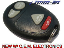 NEW! 01-02 OLDSMOBILE INTRIGUE KEYLESS ENTRY REMOTE OEM KEY FOB  4 BUTTON TRUNK
