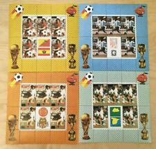 SPECIAL LOT Bhutan 1985 481-4 - World Cup Soccer - 40 Sets of 4v - MNH Surcharge