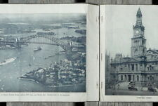 vintage Sydney Australia & Surroundings picture booklet circa 1925; 16 pages