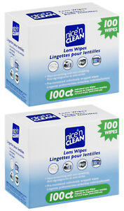 Nice 'N Clean 200 LENS WIPES Pre-Moistened Non-scratching Non-streaking Anti-Fog