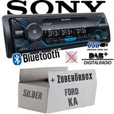 SONY AUTORADIO pour Ford KA DAB +/Bluetooth/mp3/usb voiture installation Accessoires Kit de montage