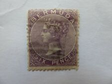 Bermuda 1865 6d used