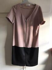 Robe zapa beige rosé et noire taille 36/38