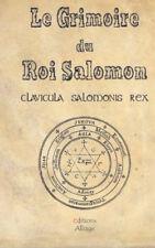 Le Grimoire du Roi Salomon: La clavicule du Roi salomon ( Paranormal ) - NEUF