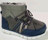 Boys Winter Boots Sports Shoe Sole Stride Rite Toddler's Sizes 4-12  Faux Fleece