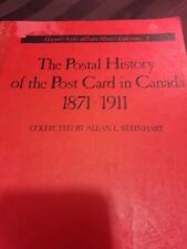 The Postal History of the Post Card in Canada 1871 - 1911  #3