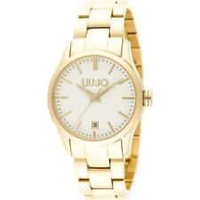 Orologio Donna LIU JO Luxury TESS TLJ886 Bracciale Acciaio Gold Dorato Bianco