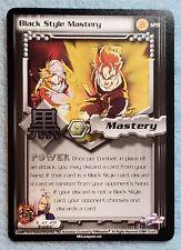 Dragon Ball Z CCG Cell Saga #129 BLACK STYLE MASTERY M/NM