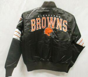 Cleveland Browns NFL Children's Snap Up Satin Jacket