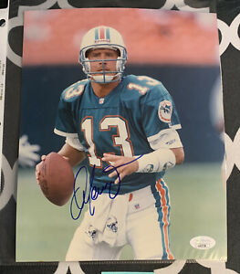 Dan Marino Signed Miami Dolphins 8x10 Photo JSA COA